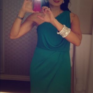 Emerald Green fabulous evening gown size S